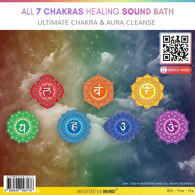 ALL 7 CHAKRAS HEALING SOUND BATH - Ultimate Chakra & Aura Cleanse