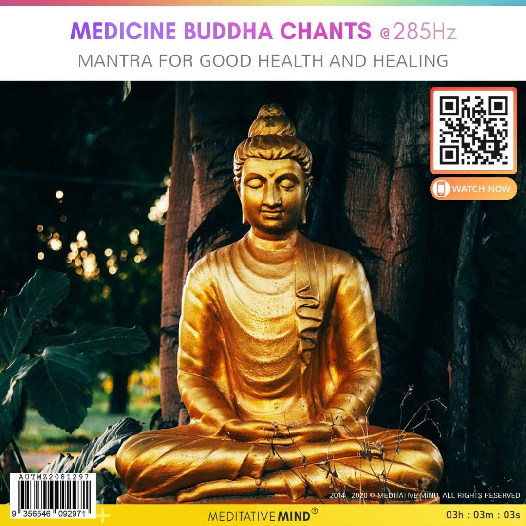 MEDICINE BUDDHA CHANTS @285Hz - Mantra for Good Health and Healing