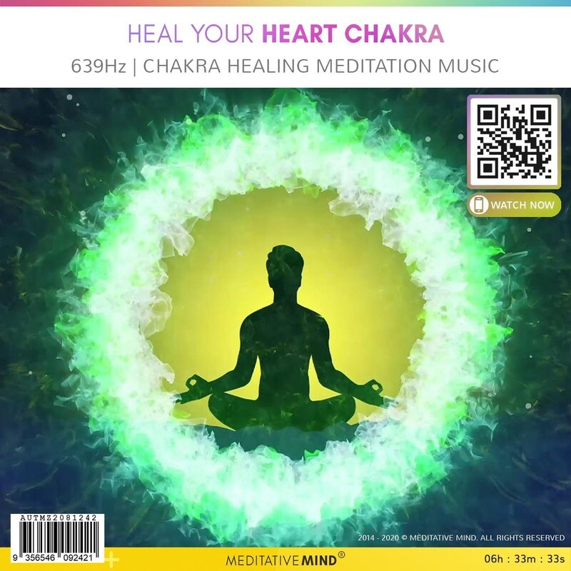 Heal Your Heart Chakra - 639Hz | Chakra Healing Meditation Music