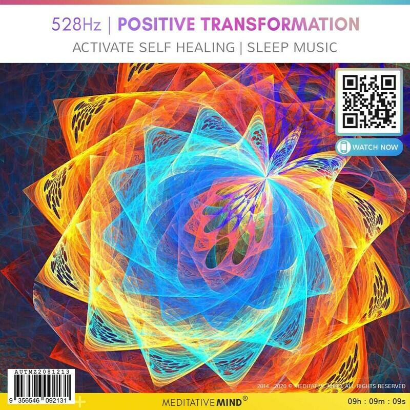 528 Hz   Positive Transformation - Activate Self Healing l Sleep Music