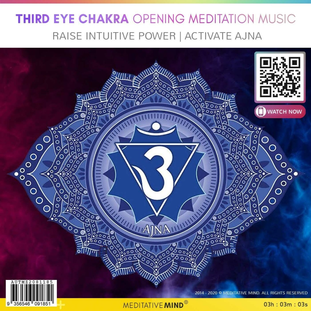 THIRD EYE CHAKRA OPENING MEDITATION MUSIC -  Raise Intuitive Power   Activate Ajna