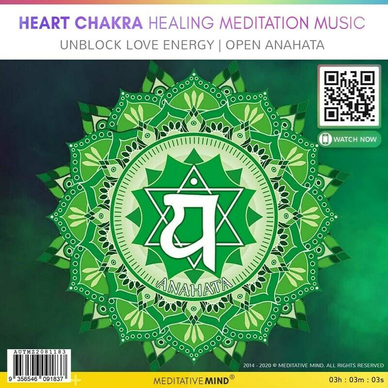 Heart Chakra Healing Meditation Music  - Unblock Love Energy   Open Anahata