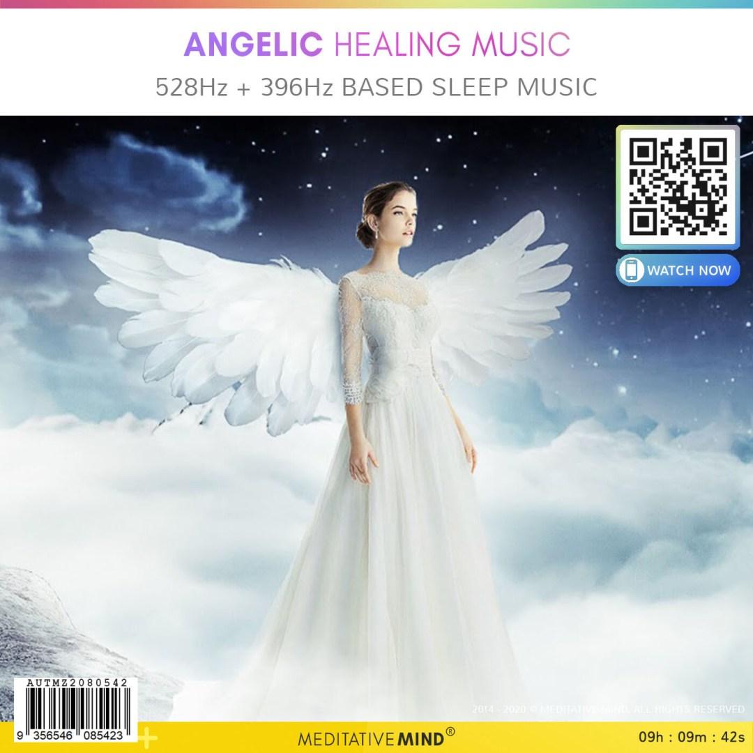 Angelic Healing Music - 528Hz + 396Hz based Sleep Music