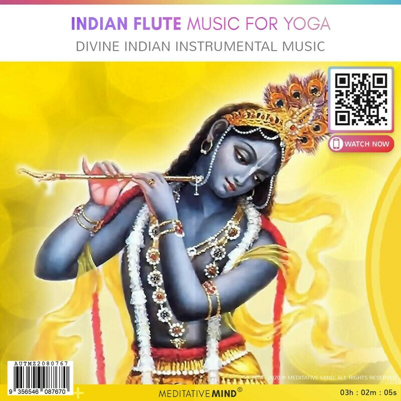 Indian Flute Music for Yoga - Divine Indian Instrumental Music