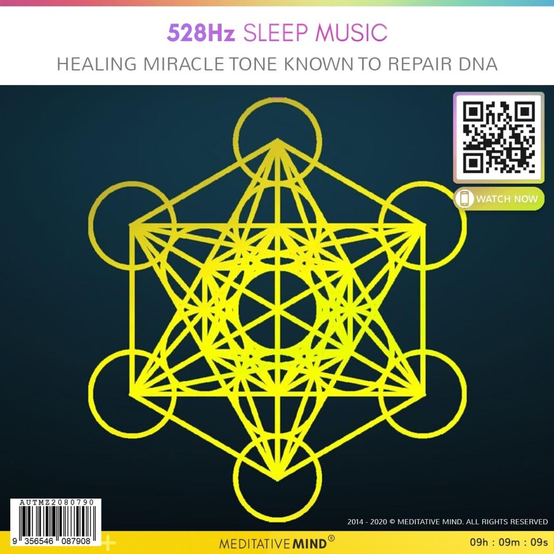 528Hz Sleep Music - Healing Miracle Tone known to Repair DNA