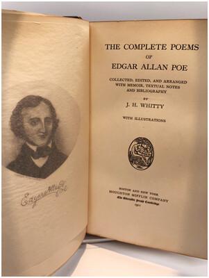1911 Edgar Allan Poe Complete Poems