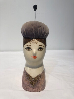 Vintage Signed Gemma Taccogna Fred Sexton Pin Cushion