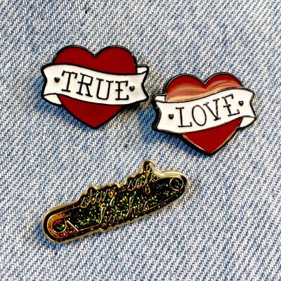 True Love Pin Set