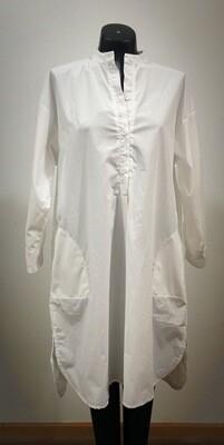 Modern Cotton Shirt/Dress With Pockets
