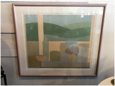 Vintage 1984 Framed & Signed Artwork