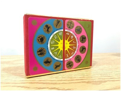 Vintage Zodiac Playing Cards