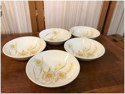 Vintage Boho Floral Dining Bowls