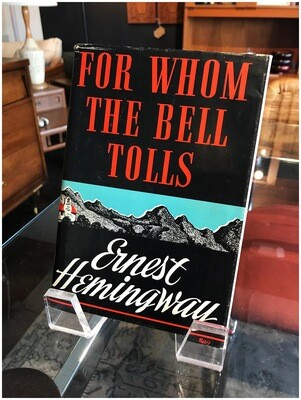 1968 For Whom The Bell Tolls, Ernest Hemingway