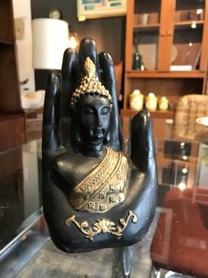 Gautama Buddha in Hand Figurine