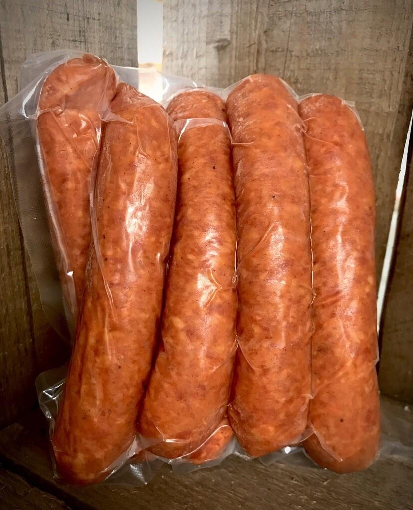 Smoked Garlic Sausage (8 pack)