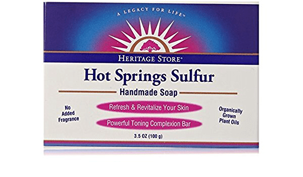 Heritage Store-Hot Springs Sulfur Soap