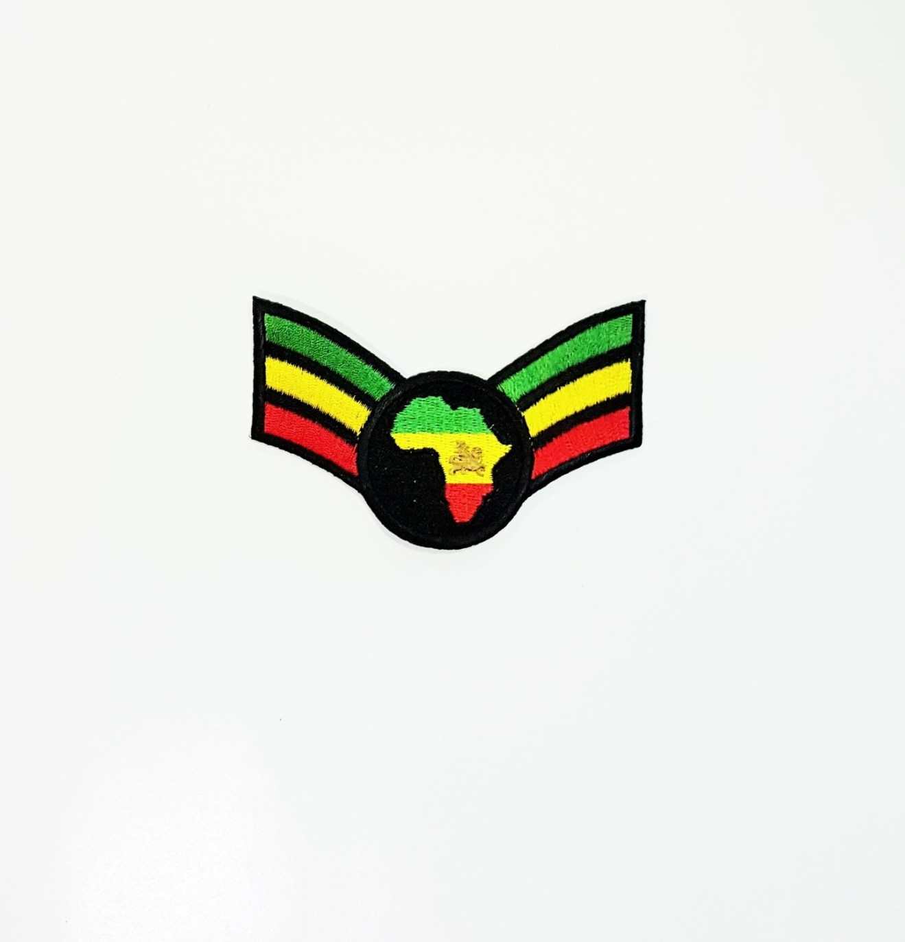Small Green, Yellow, and Red Afrika Patch