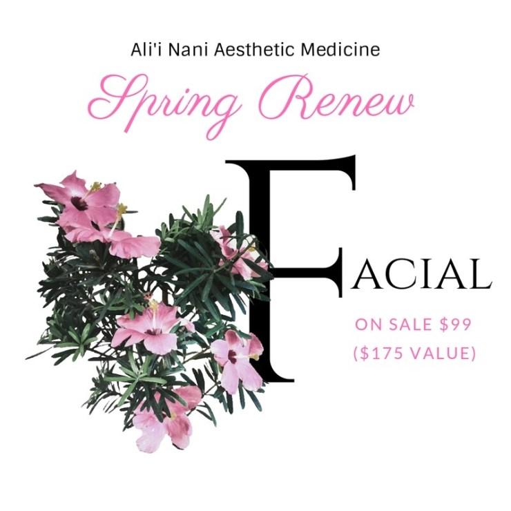 Spring Renew Facial
