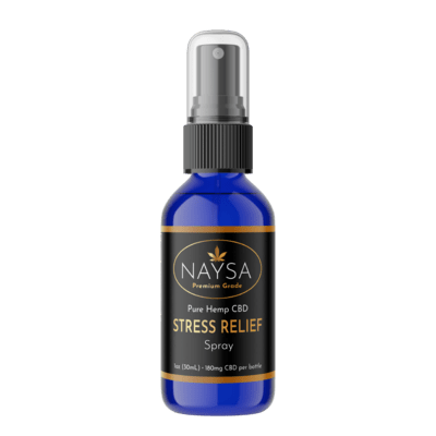 NAYSA Stress relief spray 30 ml / 180 mg CBD
