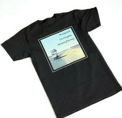 TRAVEL. Men's t-shirt with sayings black