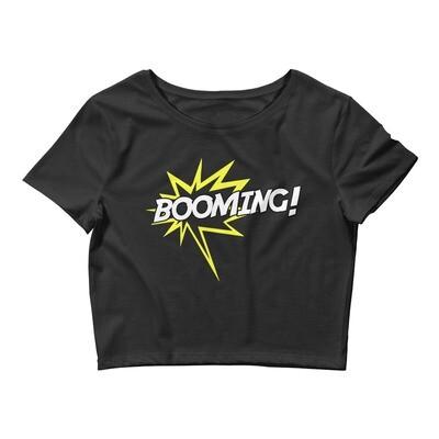Booming! Crop Tee