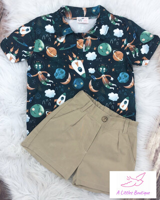 (161-2) Out Of This World Short Set 3T