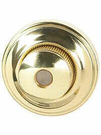 Von Morris Door Hardware Traditional DoorBell-SMALL