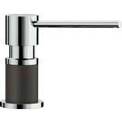 Blanco Lato Soap Dispenser - Cafe Brown/Chrome Dual Finish