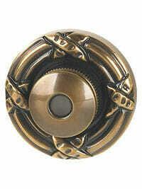 Von Morris Door Hardware Ribbon & Reed DoorBell-SMALL