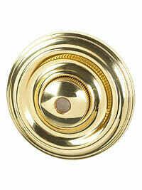 Von Morris Door Hardware Colonial DoorBell-LARGE