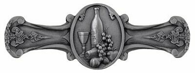 Notting Hill Cabinet Pull Best Cellar Wine Antique Pewter 4