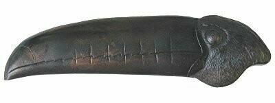 Notting Hill Cabinet Pull Toucan (Right side) Dark Brass 4-3/8