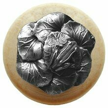 Notting Hill Cabinet Knob Leap Frog/Natural Antique Pewter 1-1/2