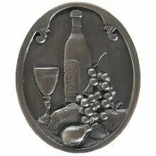 Notting Hill Cabinet Knob Best Cellar (Wine) Antique Pewter 1-1/4