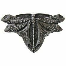 Notting Hill Cabinet Knob Dragonfly Antique Pewter 1-3/4