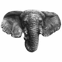 Notting Hill Cabinet Knob Goliath (Elephant) Antique Pewter 1-7/8
