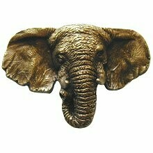 Notting Hill Cabinet Knob Goliath (Elephant) Antique Brass 1-7/8