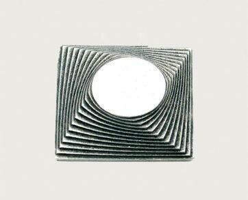 Emenee Decorative Cabinet Hardware Square/Circle Mission Knob