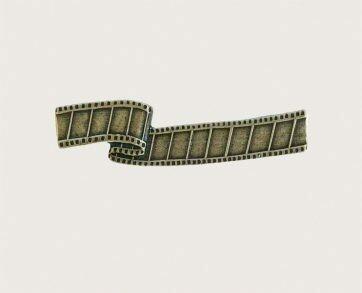 Emenee Decorative Cabinet Hardware Film Reel Handle 4-1/4