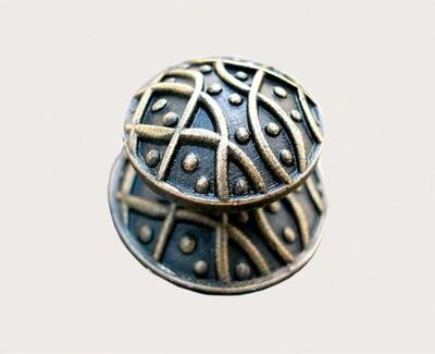 Emenee Decorative Cabinet Hardware Medici Weave Knob 1-1/2