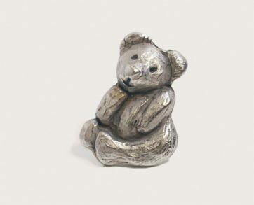Emenee Decorative Cabinet Hardware Teddy Bear 1-3/4