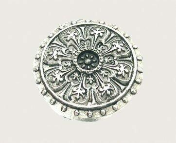 Emenee Decorative Cabinet Hardware Florentine Ornate Knob 1-3/8