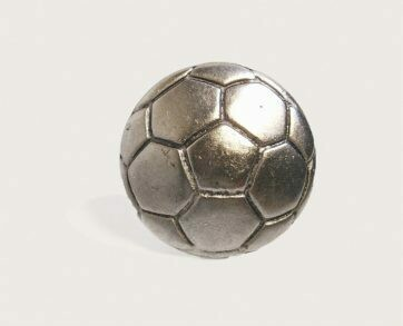 Emenee Decorative Cabinet Hardware Soccer Ball 1-1/2