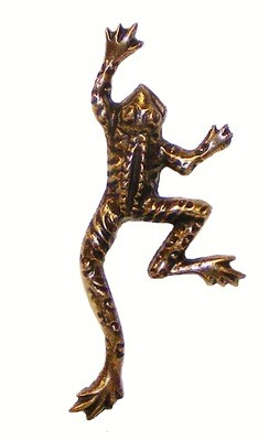 Buck Snort Lodge Decorative Hardware Cabinet Knobs and Pulls Frog