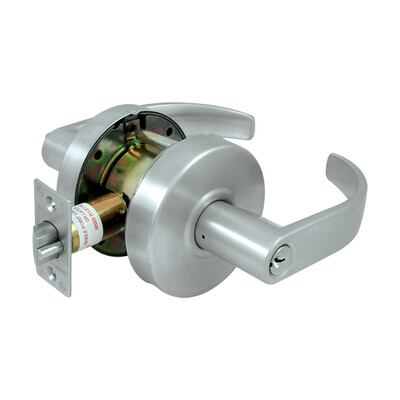 Deltana Architectural Hardware Commercial Locks: Pro Series Comm. Classroom Standard GR2, Curved w/ Cyl each