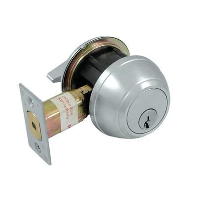 Deltana Architectural Hardware Commercial Locks: Pro Series Single Deadbolt GR1 w/ 2 3/4