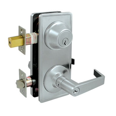 Deltana Architectural Hardware Commercial Locks: Pro Series Intercon. Lock GR2, Entry w/ Claredon Lever each