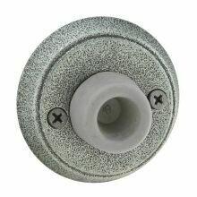 Emtek Door Hardware Tuscany Bronze Door Bell with Plate and Button  # 2 Rosette 2-5/8