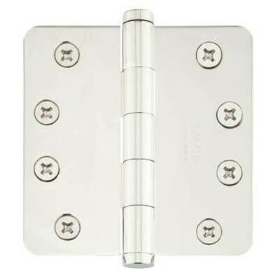 Emtek Door Hardware Heavy Duty Hinges Solid Brass 4-1/2