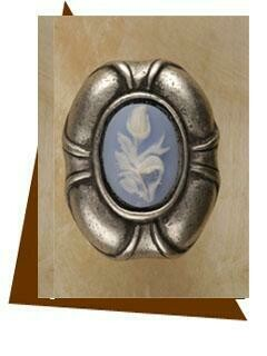 Anne At Home   Charlotte Insert Cabinet Knob-Large